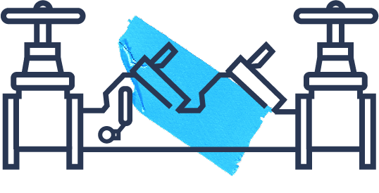 Backflow testing icon western rooter plumbers
