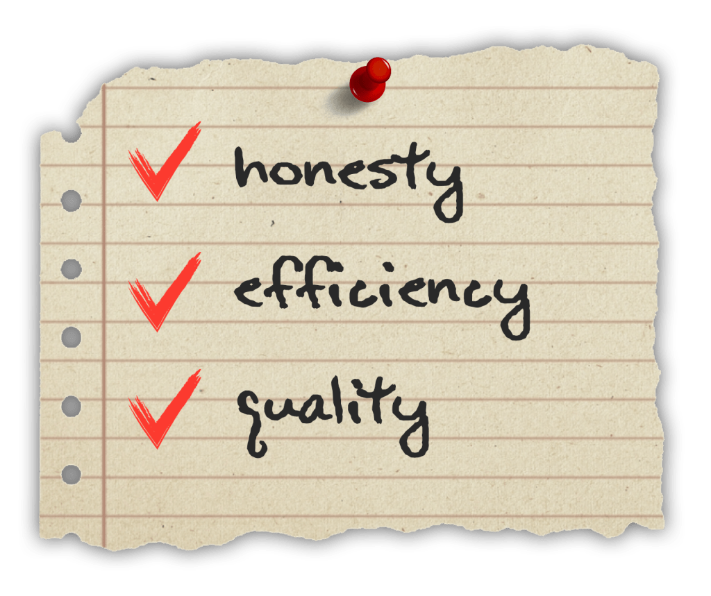 western rooter ideals checklist plumber mission and values