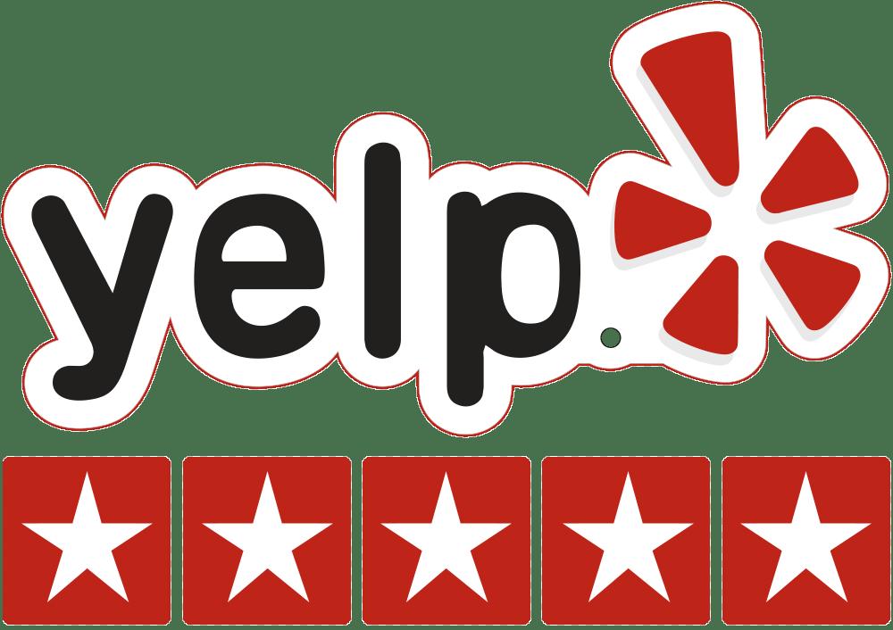 yelp plumber rating testimonials badge